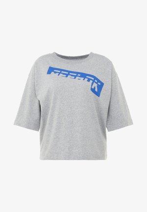 GRAPHIC TEE - T-shirt imprimé - medium grey heather