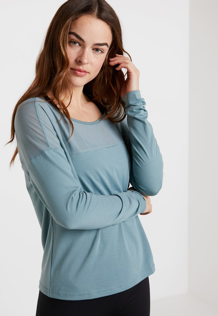 Reebok - LONG SLEEVE - Long sleeved top - teal