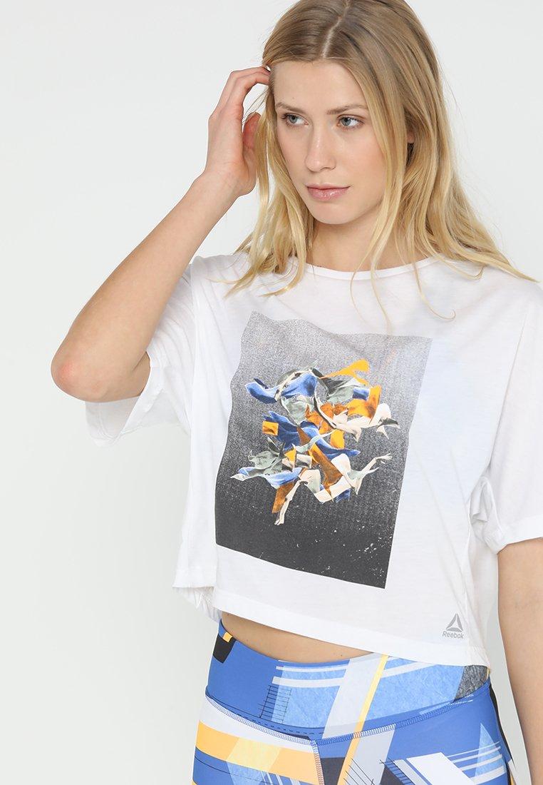 Reebok - TEE - Camiseta estampada - white