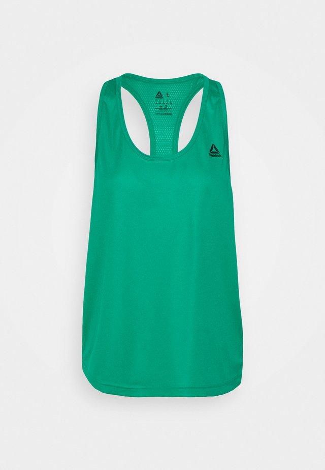 TRAINING PERFORMANCE MESH TANKTOP - Camiseta de deporte - emerald