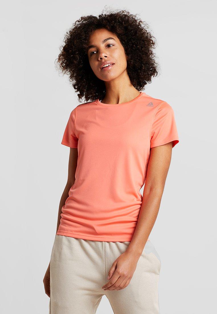 Reebok - TEE - T-Shirt print - orange