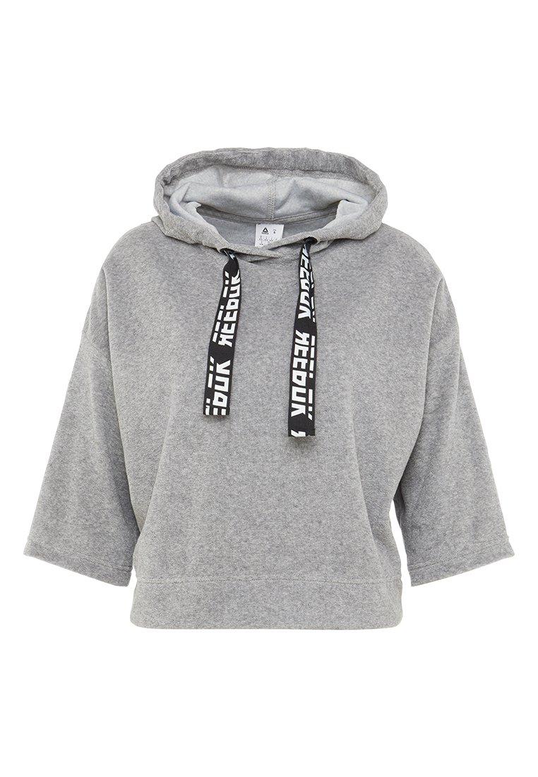 Reebok - Hoodie - medium grey heather