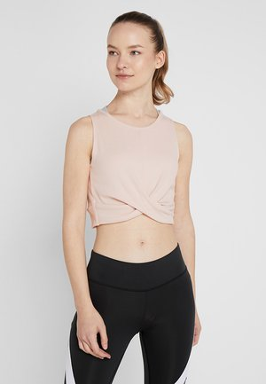 STUDIO NOVELTY YOGA CROP TOP - Top - buff