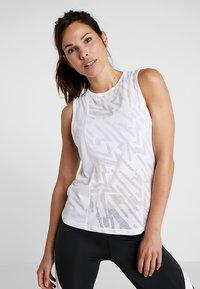 Reebok - BURNOUT TANK - Sports shirt - white - 0