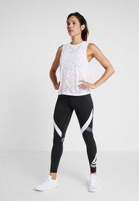 Reebok - BURNOUT TANK - Sports shirt - white - 1