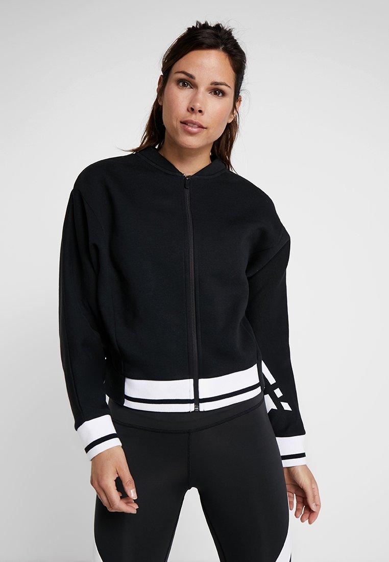 Reebok - Zip-up hoodie - black