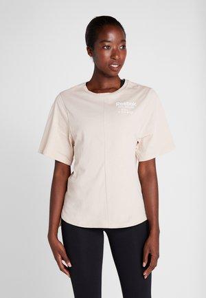 GRAPHIC TEE - T-shirts print - buff