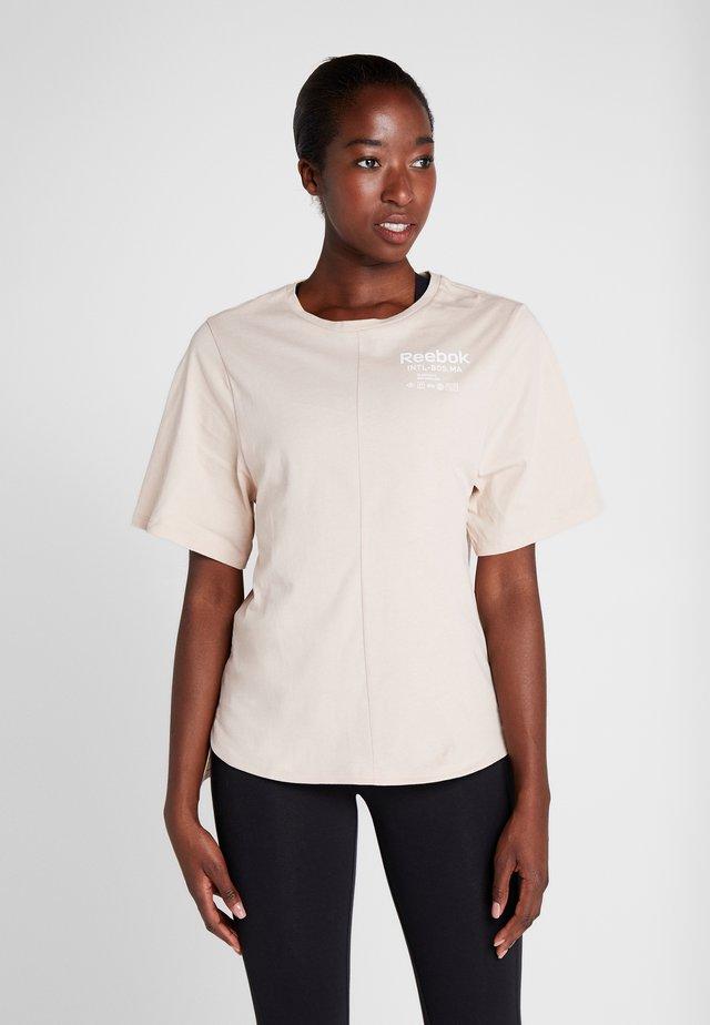 GRAPHIC TEE - T-shirt print - buff