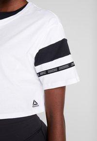 Reebok - SOLID TEE - T-shirt print - white - 5