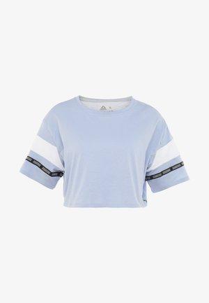 SOLID TEE - T-shirt imprimé - denim dust