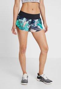 Reebok - SHORT PRINT - Sports shorts - emeral - 0