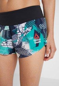 Reebok - SHORT PRINT - Sports shorts - emeral - 5