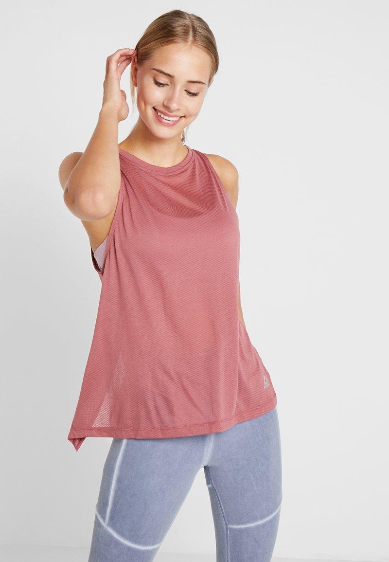 Reebok - TANK - T-shirt de sport - rosdus