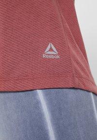 Reebok - TANK - T-shirt de sport - rosdus - 5