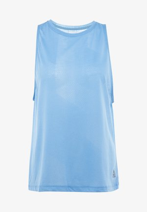 TANK - Sports shirt - cyan