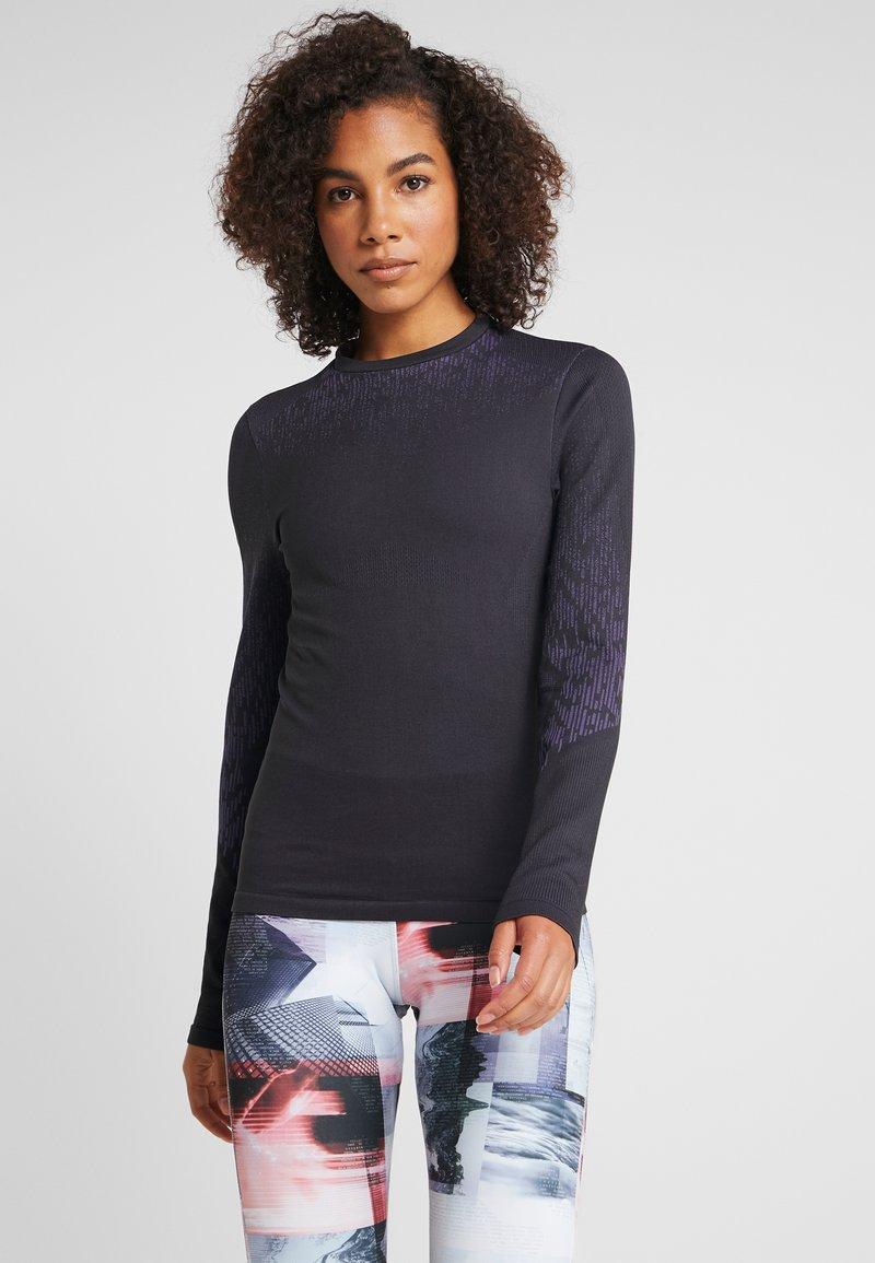 Reebok - THERMOWARM BASE LAYER - T-shirt de sport - black