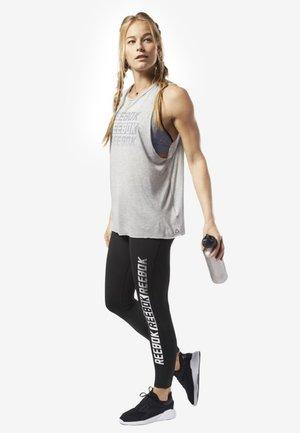 STUDIO REEBOK MUSCLE TANK TOP - T-shirt sportiva - grey