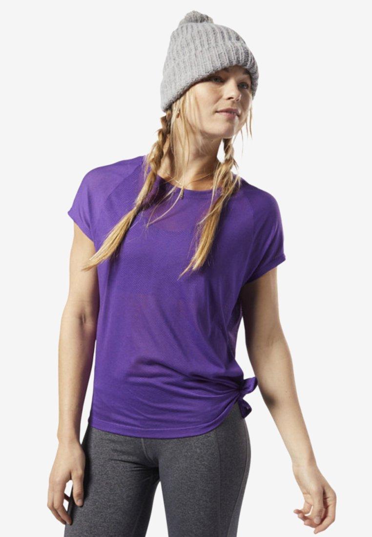 One Burnout shirt Purple De TeeT Sport Reebok Series L3jq54AR