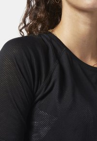 Reebok - ONE SERIES BURNOUT LONG SLEEVE TEE - Camiseta de deporte - black - 3