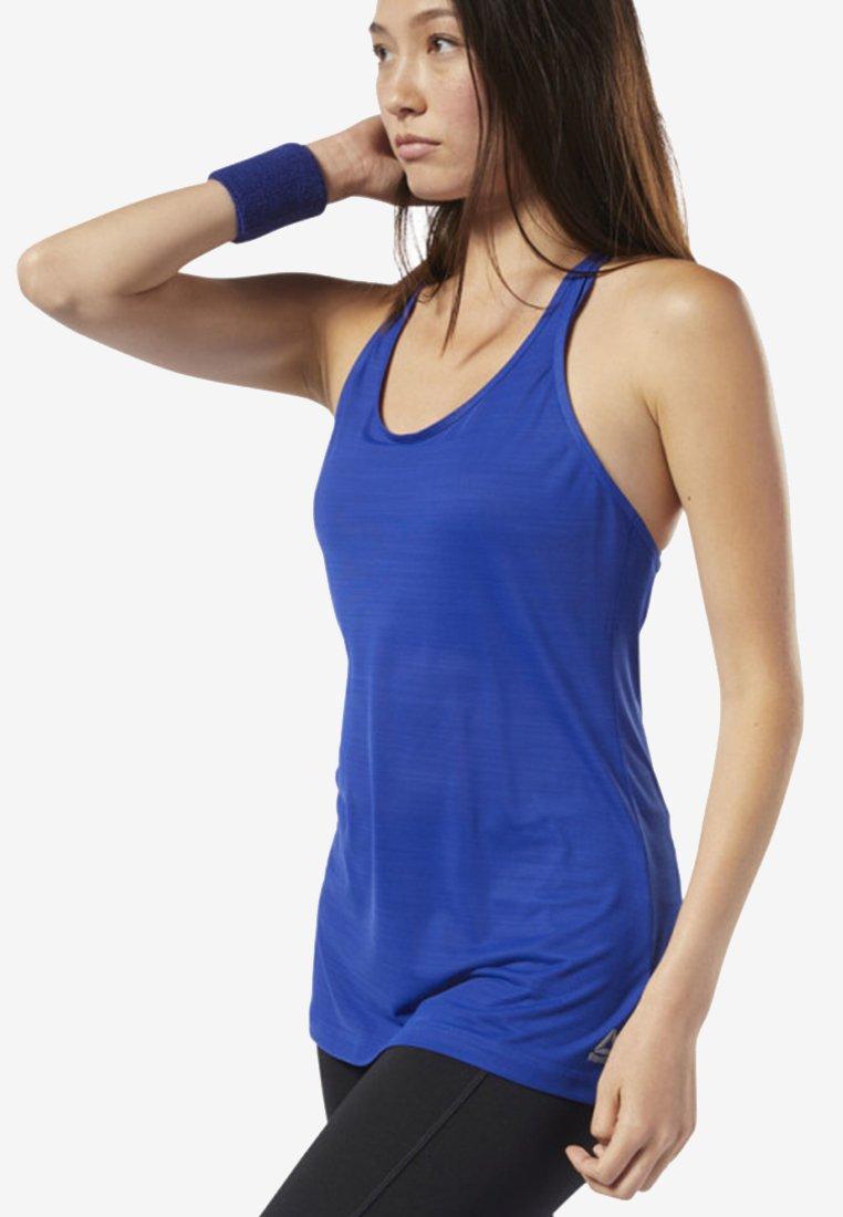 Reebok - WOR ACTIVCHILL TANK TOP - Treningsskjorter - blue