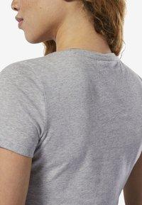 Reebok - UFC FAN GEAR LOGO TEE - T-shirt con stampa - grey - 5