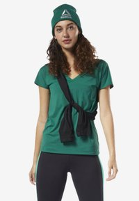 Reebok - ACTIVCHILL TEE - T-shirt basic - green - 1