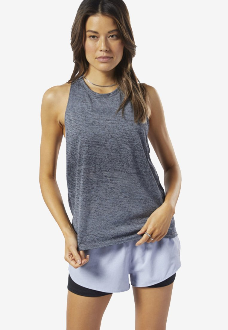 Reebok - ONE SERIES RUNNING KNIT TANK TOP - Top - cold grey