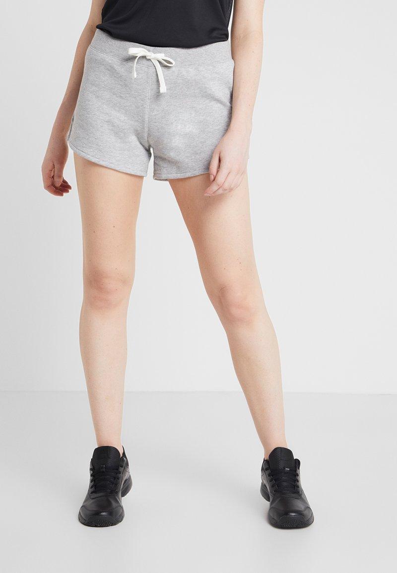 Reebok - TRAINING SIMPLE SHORTS - Pantaloncini sportivi - medium grey heather