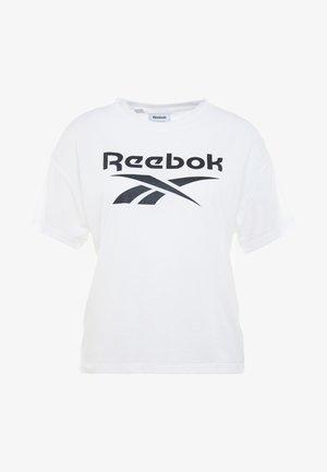 WOR SUP TEE - T-shirt print - white