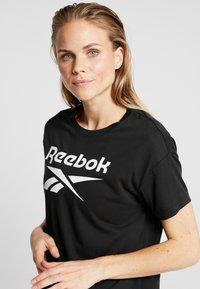Reebok - WOR SUP TEE - T-shirt imprimé - black - 4