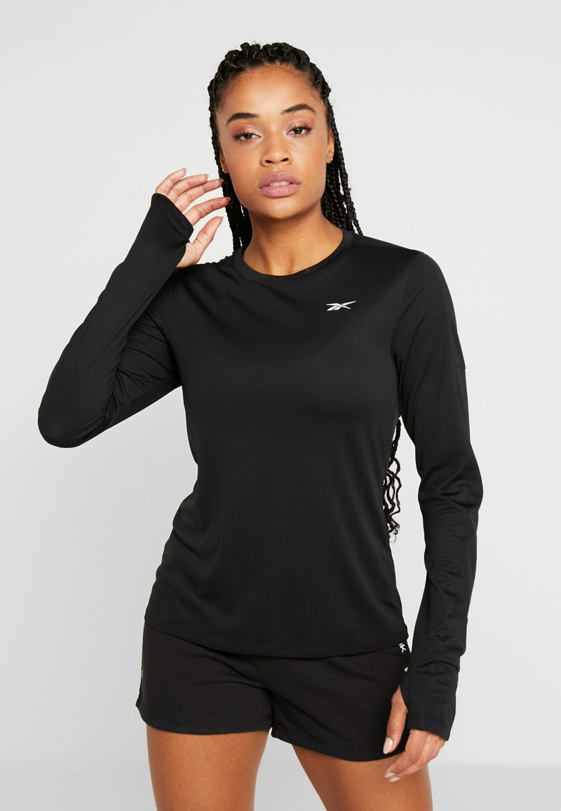 Reebok - TEE - Long sleeved top - black