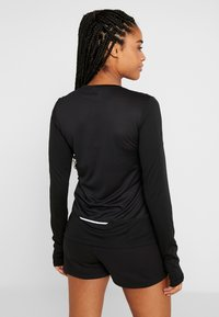Reebok - TEE - Long sleeved top - black - 2