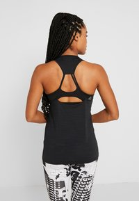 Reebok - ATHLETIC TANK - Top - black - 2
