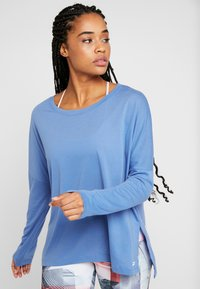 Reebok - WOR SUPREMIUM LONG SLEEVE - Long sleeved top - blubla - 0