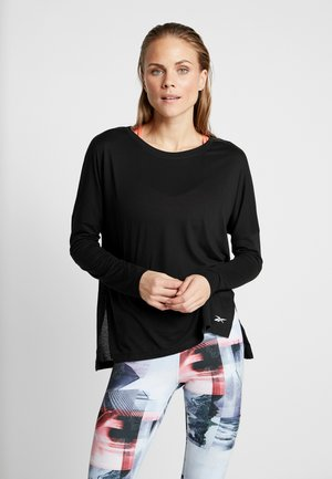 WOR SUPREMIUM LONG SLEEVE - Long sleeved top - black