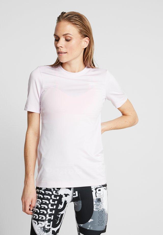 TEE - Jednoduché triko - pink