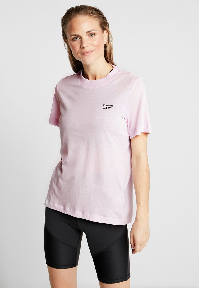 EASY TEE - Jednoduché triko - pink