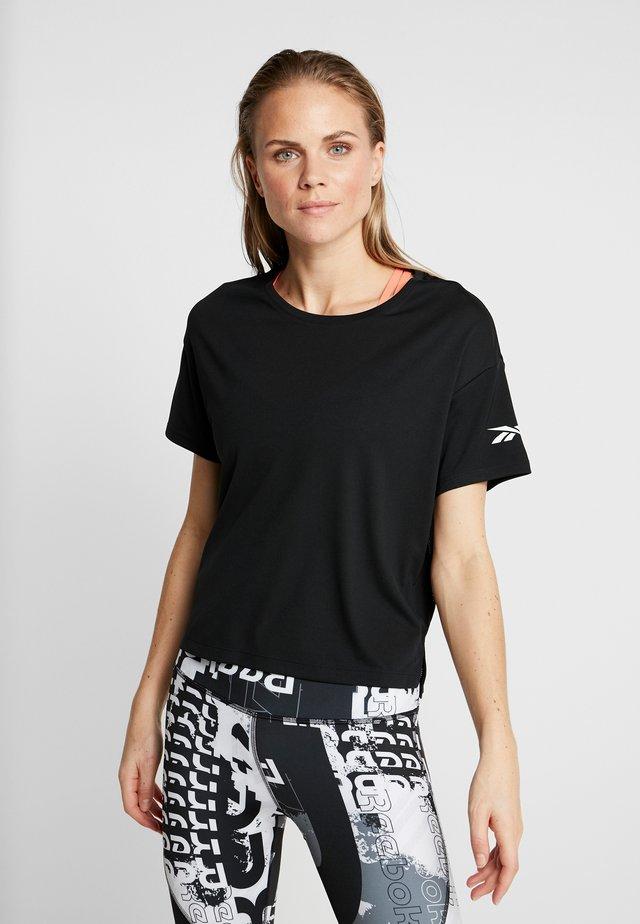 TEE SOLID - T-Shirt print - black