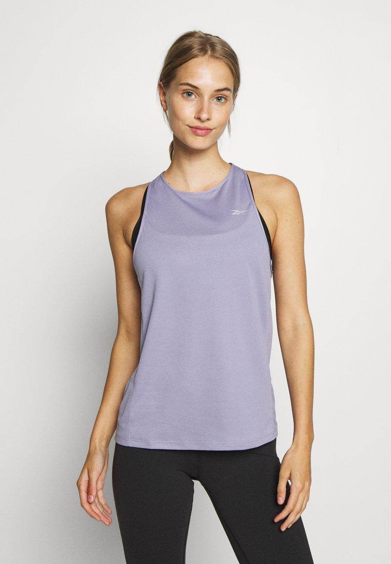 Reebok - TANK - Sportshirt - purple