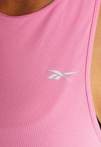 Reebok - TANK - Camiseta de deporte - pink - 5
