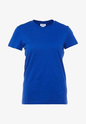 TEE - Basic T-shirt - cobalt