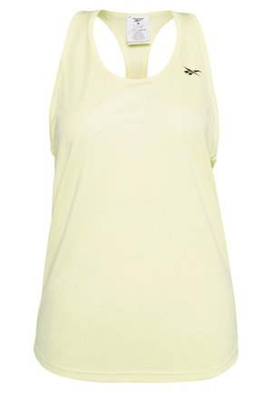 2020-03-26 MESH BACK TANK TOP - Camiseta de deporte - yellow