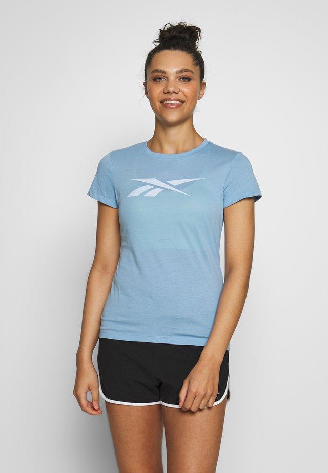 VECTOR TEE - Camiseta estampada - blue