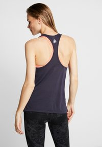 Reebok - GRAPHIC TEE - Top - purple - 2