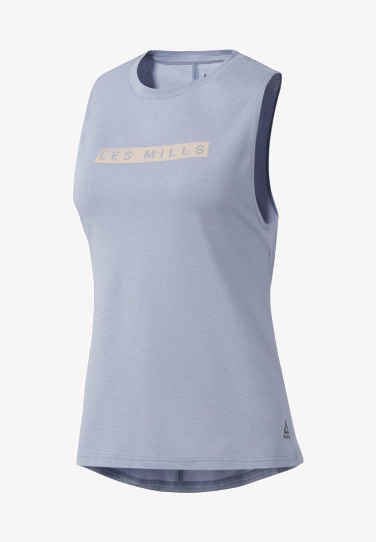 Reebok - Treningsskjorter - blue