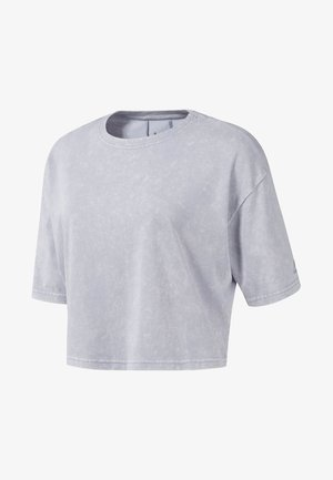 STUDIO WASHED TEE - T-shirt basique - grey