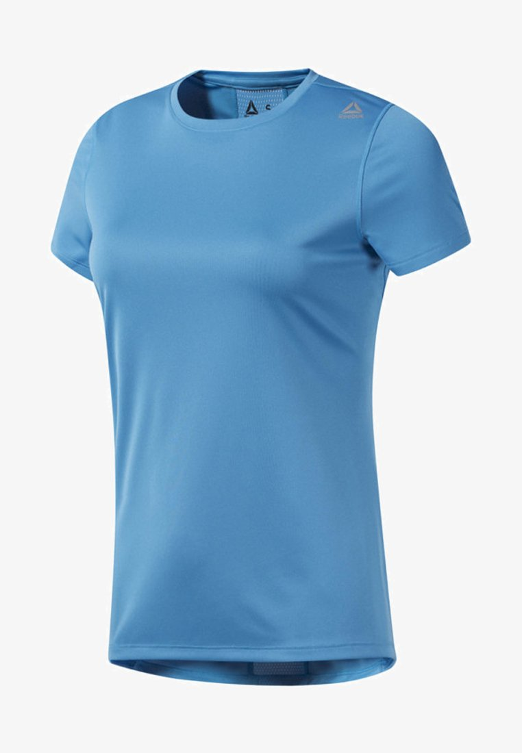 Reebok - RUNNING TEE - T-shirt print - blue