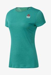 Reebok - ACTIVCHILL - T-shirt imprimé - green - 0