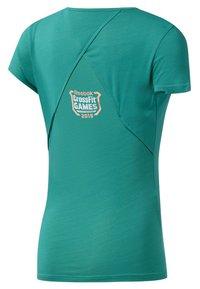 Reebok - ACTIVCHILL - T-shirt imprimé - green - 1