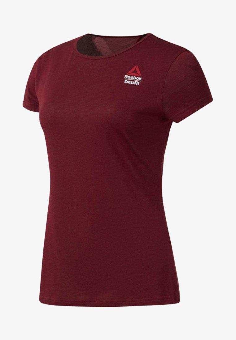 Reebok - REEBOK GAMES ACTIVCHILL TEE - T-shirts med print - red
